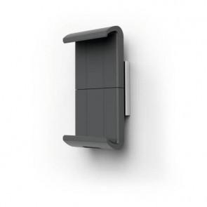 Porta tablet da muro DURABLE Tablet Holder Wall XL 85x50x180 mm argento metallizzato - 8938-23