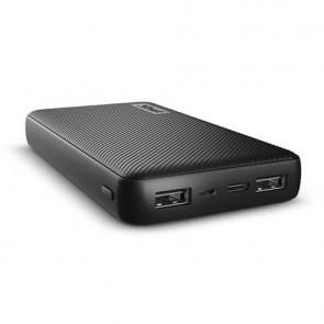 Powerbank compatto da 15.000 mAh Trust Primo 2 USB A + 1 USB C nero 23594
