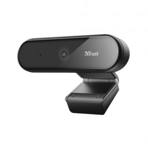 Webcam Full HD Trust Tyro risoluzione 1080p con treppiede - nero 23637