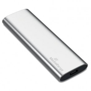 Unit? SSD esterna Media Range USB Type-C? 120 GB - argento MR1100
