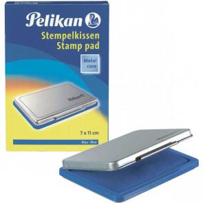 Cuscinetti inchiostrati per timbri Pelikan blu n° 2 7x11 cm 0BEB13