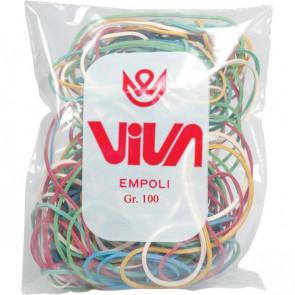 Elastici colorati Viva A100 (conf.10x100 g)