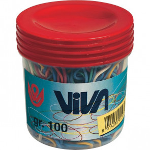 Barattolo elastici Viva C101 (pz.100 g)