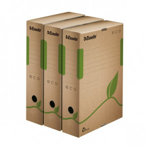 Scatole archivio Box Eco Esselte dorso8 8x23,3x32,7 cm 623916 (conf.25)