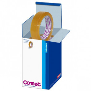 Comet Cellophane Torre 19 mm x 66 m 64160-00004-01 (conf.8)