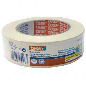Nastro telato colorato Tesa 38 mm x 25 m bianco 56359-00001-00
