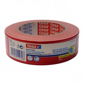 Nastro telato colorato Tesa 38 mm x 25 m rosso 56359-00003-00