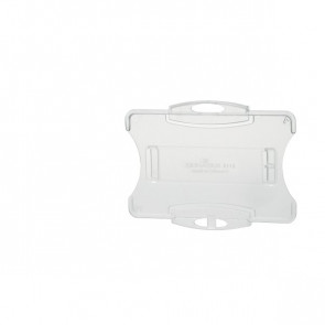 Portabadge rigido aperto Durable senza clip 5,4x8,5 cm 8918-19 (conf.10)
