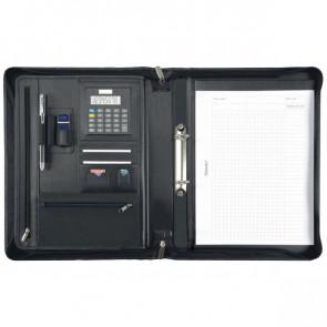 Portablocco con custodia tablet Juscha 36x7x28,5 cm nero 30062