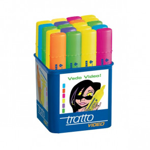 Evidenziatore Tratto Video assortiti da 1 a 5 mm 830300 (conf.20)