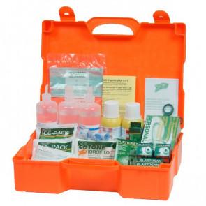 Valigetta Pronto soccorso 3 persone Pharma Shield plastica 46x34,5x14,5 cm DM388 10019