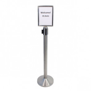 Display per colonnina separa code Securit RS-SIGN-A4- RS-SIGN-A4-PS