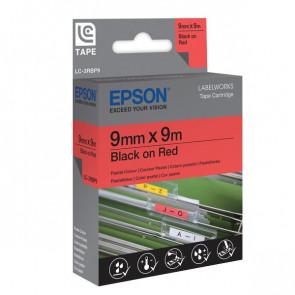 Nastro per etichettatrice LC Epson 6 mm x 9 m nero/bianco C53S623402