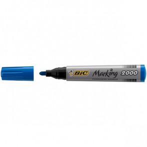 Permanent Marker 2000 Bic blu tonda 2,5 mm 8209143 (conf.12)