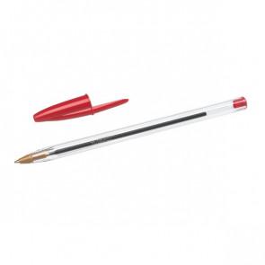 Penna a sfera Cristal® Bic Medium Classic rosso 1 mm 8373619 (conf.50)
