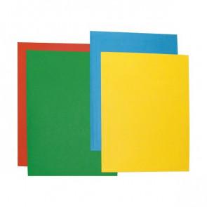 Cartelline Color 3 lembi Brefiocart 33x25 cm verde 0205511.VE (conf.25)