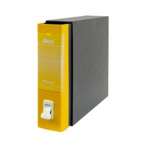 Registratori Dox 1 dorso 8 Commerciale giallo D26106