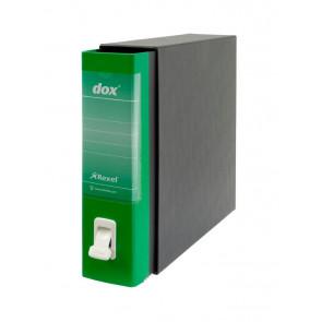 Registratori Dox 2 dorso 8 Protocollo verde D26214