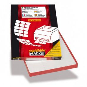 Etichette adesive Markin - 105x59 mm - Nr. etichette / foglio 10 - X210C507 (CONF100)