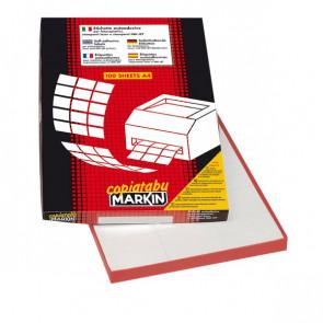 Etichette adesive Markin - 70x25 mm - Nr. etichette / foglio 36 - X210C506 (CONF100)