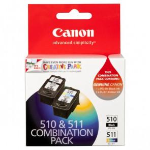 Originale Canon 2970B010 Conf. 2 serbatoi inchiostro PG-510/CL-511 nero+colore