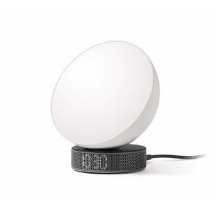 Lexon. Orologio,lampada da tavolo a Led