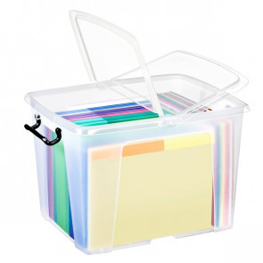 Contenitori con coperchio Smart Box Strata 50x39,5x32,9 cm 40 l HW674