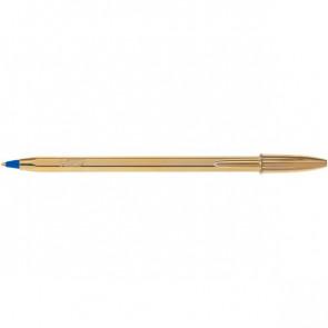 Penna a sfera Cristal Shine Bic oro blu 9213401 (conf.20)