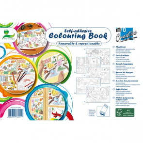 Colouring book adesivo Global Notes 25 fogli Q871908