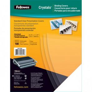 Copertine in PVC per rilegatura Fellowes A4 180 my trasparente 5375901 (conf.100)