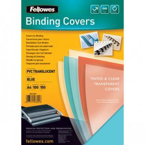 Copertine in PVC per rilegatura Fellowes A4 180 my verde 5377301 (conf.100)