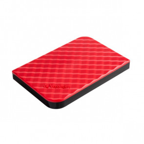 Hard Disk Store'n Go 3.0 Verbatim 1 TB rosso 53203