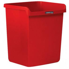 """Cestino """"Rosso Italia Collection"""" Arda rosso 28,7x25,3x32,3 cm 8116RIR"""