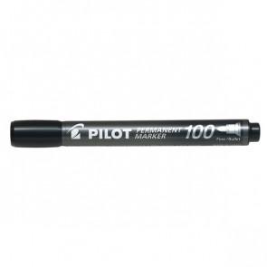 Marcatore permanente SCA 100 Pilot punta tonda 1 mm nero 002705 (conf.12)