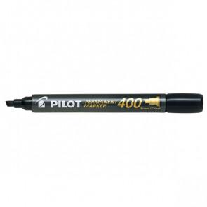 Marcatore permanente SCA 400 Pilot punta a scalpello 4 mm nero 002710 (conf.12)