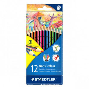Matite colorate Noris colors Staedtler 185C12 (conf.12)