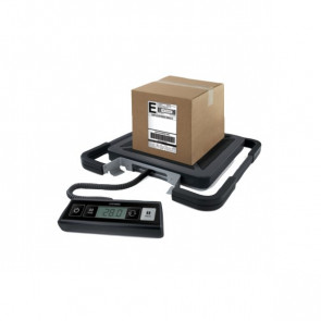 Bilancia pesapacchi Rubbermaid 100 kg 200 g 41x40x5 cm nero S0929030