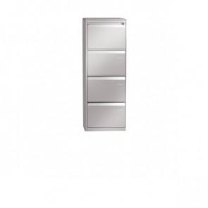 Classificatore in metallo Tecnical 2 4 bianco LxPxH 49,5x65,2x136 cm ECO-4-T bianco