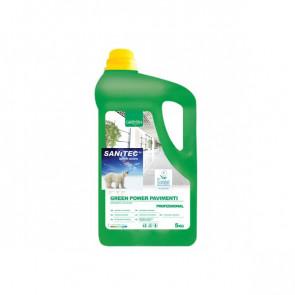 Detergente ecologico per pavimenti Sanitec 5 Kg 3105