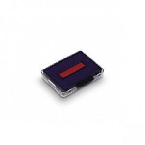 Cartucce Datario autoinchiostrante con testo commerciale Printy 4750 Trodat blu/rosso 1422 (conf.3)