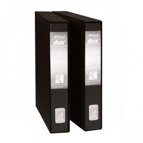 Registratori Dox 5 5 cm nero D26510