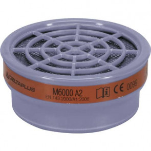 Kit di 2 filtri A2 per semi-maschere M6200 e M6400 Jupiter grigio - M6000EA2R