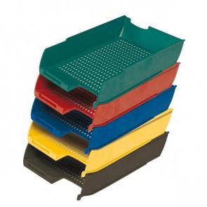 Vaschetta portacorrispondenza Presbitero 25,5x35,5x6,5 cm rosso X850006