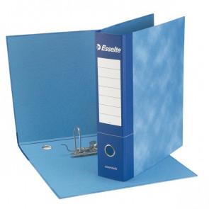 Raccoglitore Essential Esselte - meccanismo a leva - 8 cm - Protocollo - blu - 2 - meccanismo a leva - 390775050