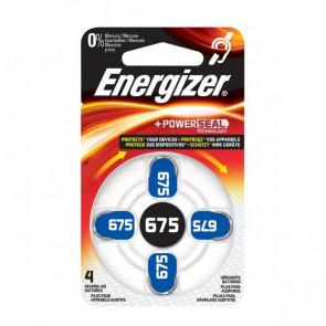 Pile acustiche Energizer 675 1,4 V E001082204 (conf.4)