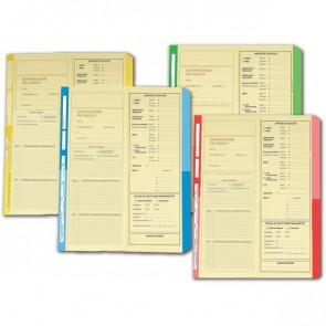 Cartelline dichiarazione redditi 4company 32,5x25,5 cm avorio verde 4175 03 (conf.50)
