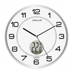 Orologio al quarzo Tempus Unilux diametro 30,5 cm grigio 400094592