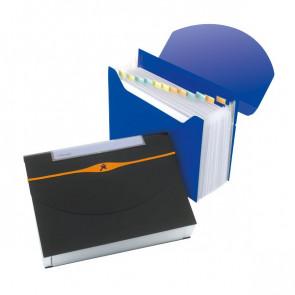 Archiviatore a soffietto Optima Rexel blu 2102484