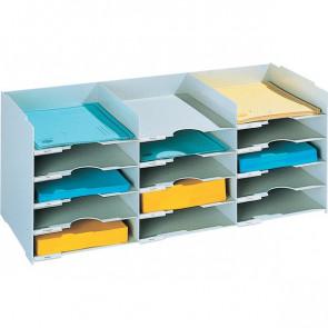 Sistema multiblocco Paperflow Blocco schedario grigio 531.02