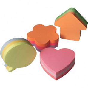 Post-it® Cubi sagomati fiore assortiti 2007-F